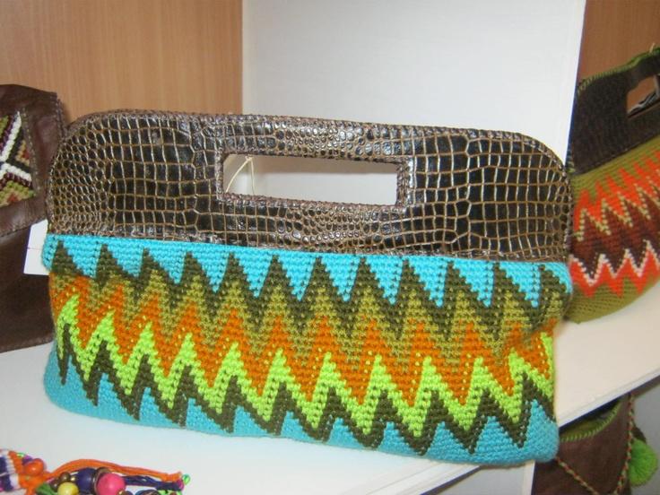 sobre crochet y macrame