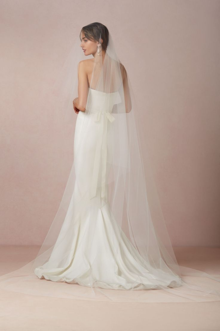 BHLDN Floating Cathedral Veil in  Bride Veils & Headpieces at BHLDN