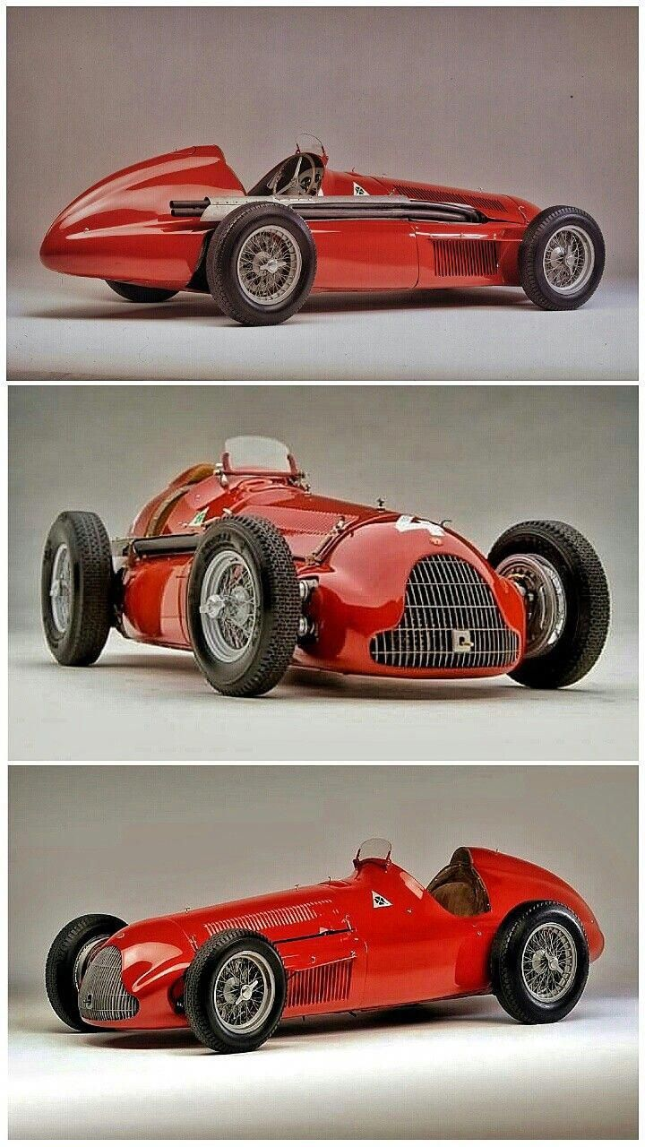 The Alfa Romeo 158 Not Only Took First Second And Third At The Very First Formula 1 Race On 13 May 1950 At Silver Classic Cars Classic Racing Cars Alfa Romeo