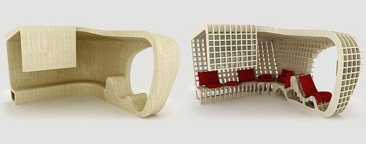 Diseño Paramétrico: CHAISE-WEB