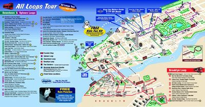 new york travel map pdf new york map