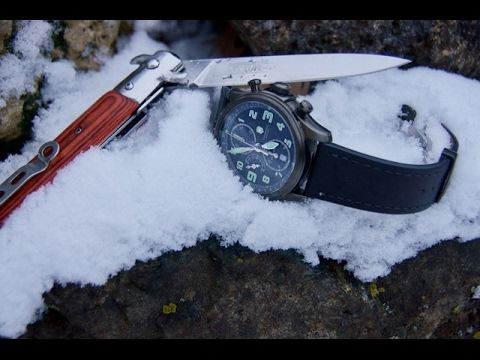 Review of Men's Wrist Watches: Victorinox Infantry Vintage Mechanical Chronograph