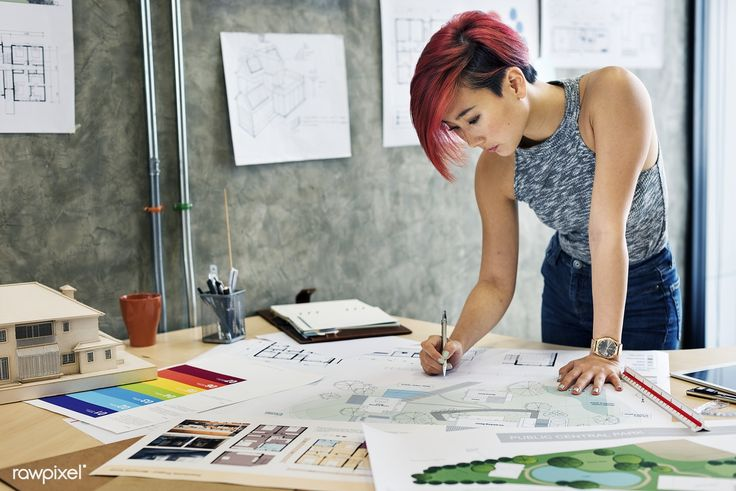 Download Premium Image Of Design Studio Architect Creative Occupation Interior Design Career Interior Design Courses Online Freelance Interior Designer