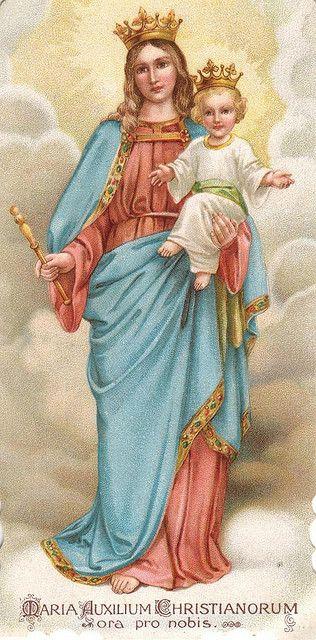 Maria Auxilium Christianorum | Flickr