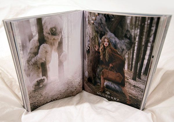 Mulberry - Wild ThingsMullberry Wild, Furries Yeti, Ads Campaigns, Honour Projects, Graphics Design, Things Monster3 Jpg, Mulberry Aw12, F W12 Ads, Amazing Super