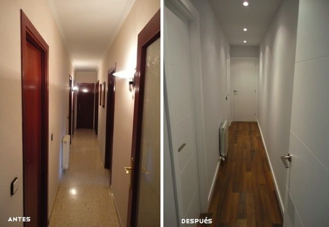 Reforma de la casa entera: antes y despues... espectacular!