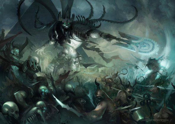 As ilustrações de fantasia e ficção científica de Dave Greco