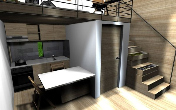 Micro Cube House House Design Pinterest Micro House