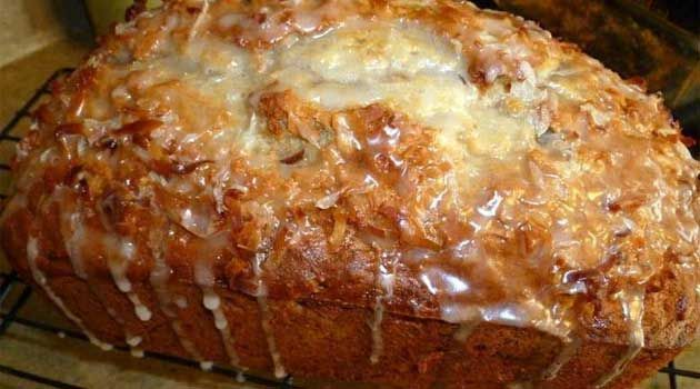 Recipe for Jamaican Banana Bread - A few interesting ingredients take this banana bread to a tropical place from which you will not want to return. Banana bread with an island twist.