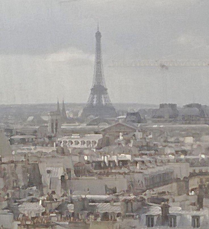 Paris in February.  By Lituska