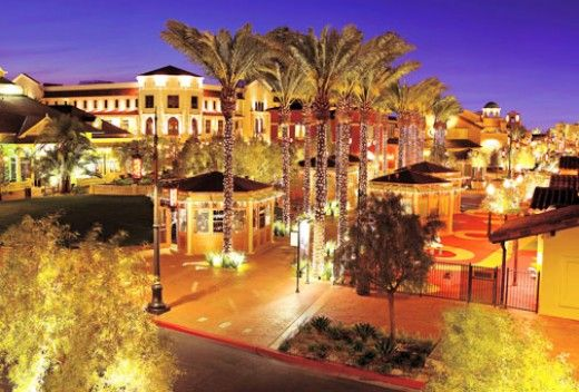 Town square is on Las Vegas Boulevard about a mile and a half south of Mandalay Bay. It is an outdoor mall with tons of restaurants and bars. Here are some of my favorite things to do at Town Square: