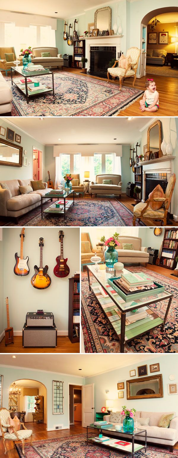 This House Is Guitar And Child Pleasant.  A Toddler's Nursery That I Really Wo…