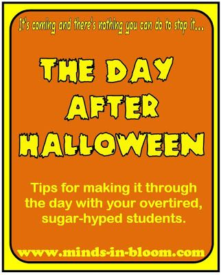 The Day AFTER Halloween: Tips for Making it Through the Day.