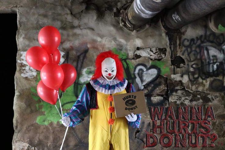 THIS DONUT SHOP IS SENDING CREEPY CLOWNS TO MAKE DELIVERIES