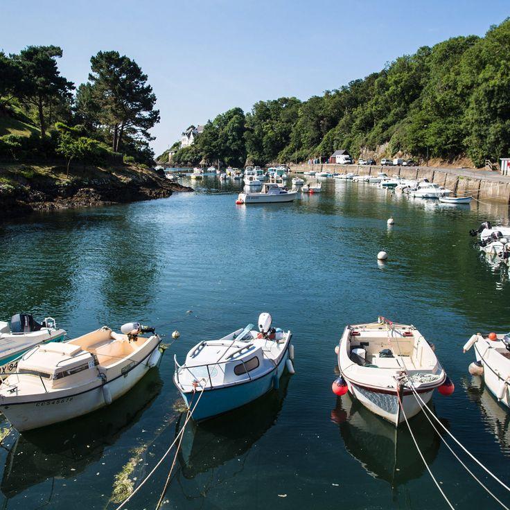 Le port de Brigneau, en Bretagne sud