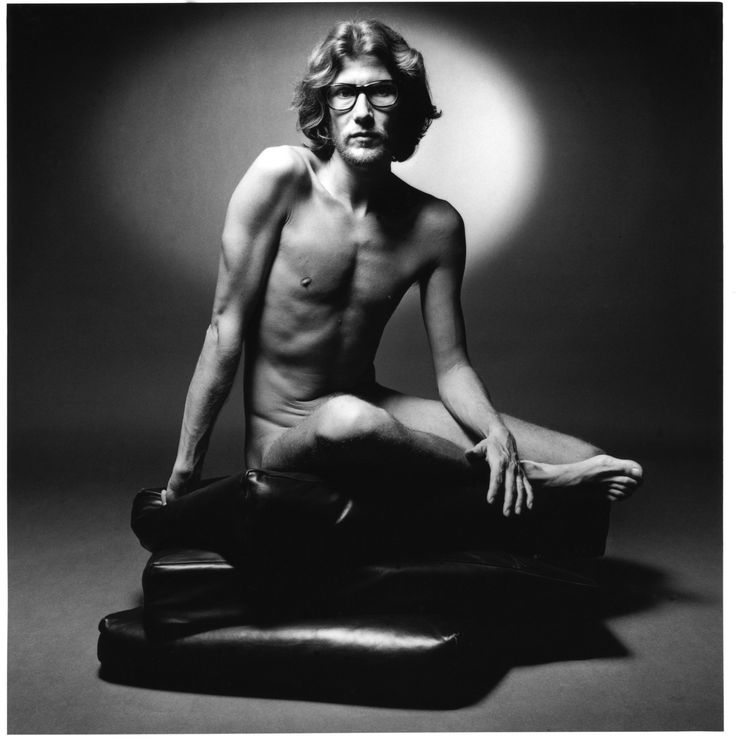 Yves Saint Laurent by Jeanloup Sieff, 1971 for his first fragrance, Homme.