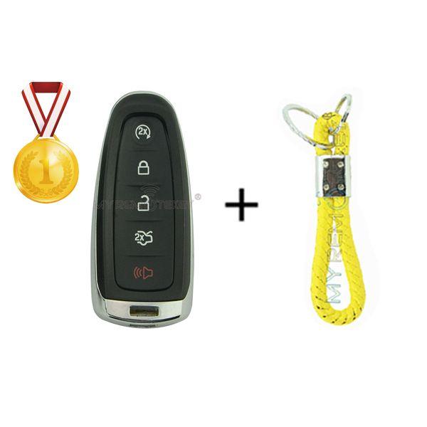 Smart remote key shell case cover for Ford Explorer Edge Taurus Flex M3N5WY8610 5 button 2011 2012 2013 2014 2015 remtekey
