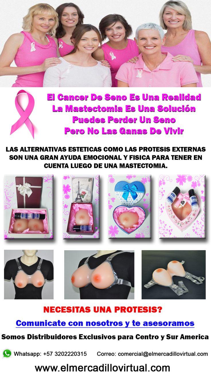 protesis de seno para tratamientos post quirurgicos de mastectomia parcial o radical.  una solucion estetica para la mastectomia devolviendo la autoestima y las ganas de vivir después de un tratamiento de cáncer de seno. tags: protesis - cancer - seno - silicona - mastectomia - brasier