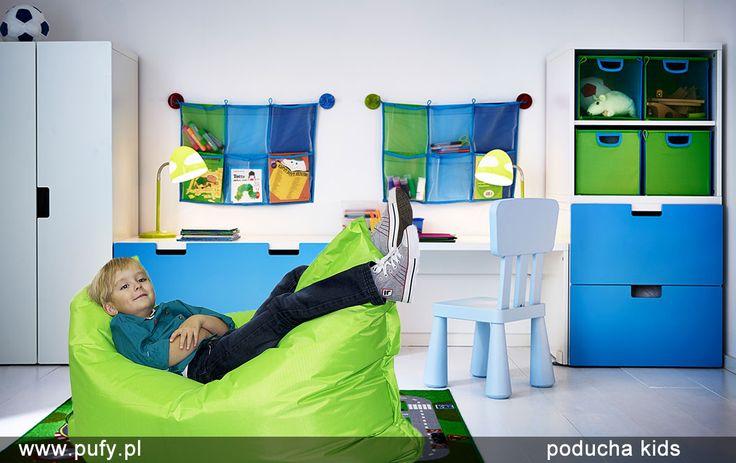 Prezentujemy #pufę idealną do #pokoju #dziecka