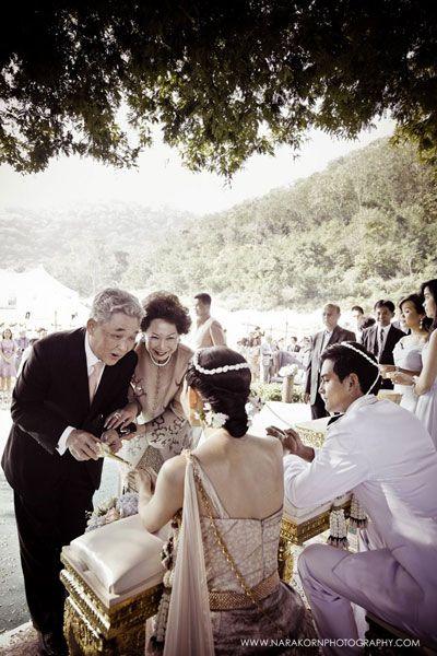 outdoor traditional wedding