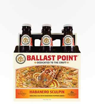 Ballast Point Habanero Sculpin - $16.99 Contains flavors of citrus accompanied with the floral heat of habaneros. 7% ABV