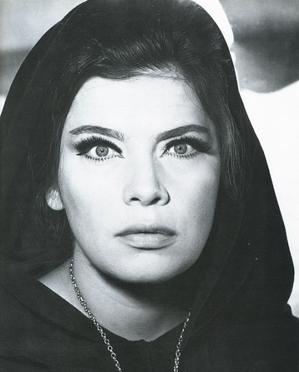 Jenny Karezi. The most beautiful blue eyes of the old, greek cinema. And theatre. Gone but never forgotten