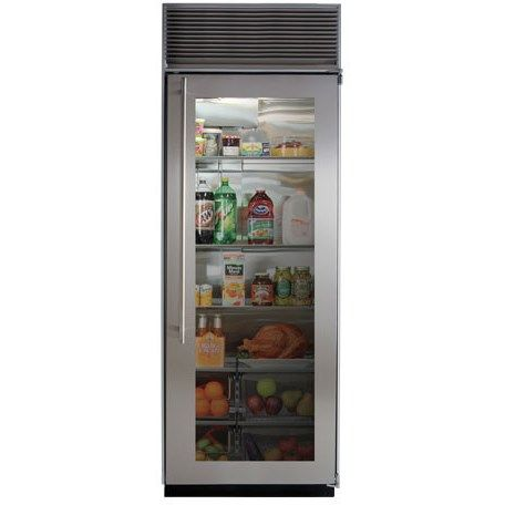 """Marvel M30ARWGPR 30"""" Stainless Steel Counter Depth Built In Freezerless Refrigerator with Panel Ready Frame - Right Hinge"""