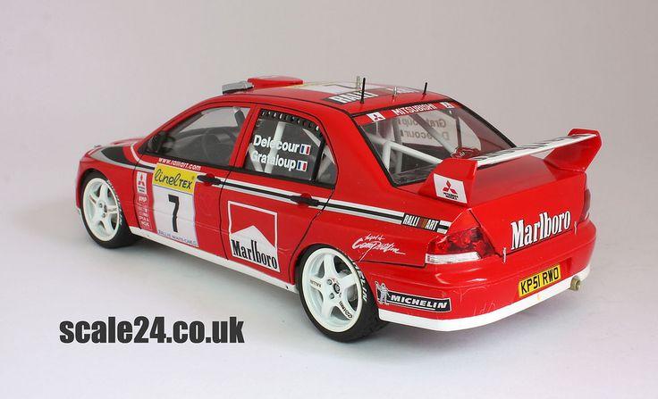 Tamiya 1//24 Mitsubishi Lancer Evolution VII WRC 2002 #24257