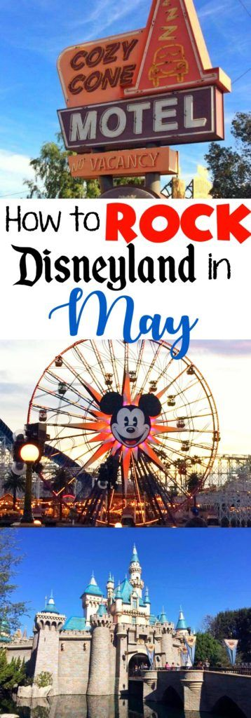 How to ROCK Disneyland in May will give you six things to think about when planning a Disneyland vacation in May. Crowd Calendar, Ride Closures and more!