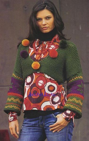 Вязаные свитера разноцветные узоры картинки