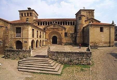 Colegiata de Santillana del Mar, Cantabria, Spain.