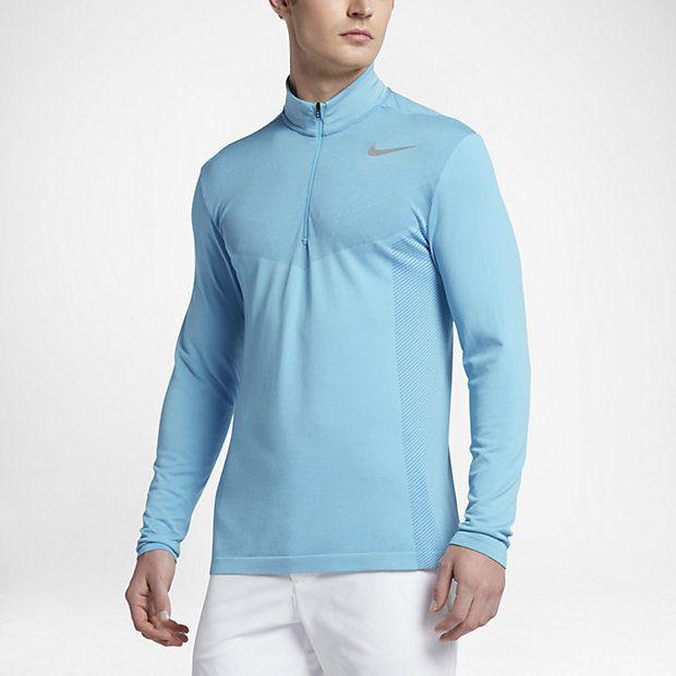 6b8e7311b9144 Nike Flyknit Golf Half Zip | Activewear | Golf shirts, Mens tops ...