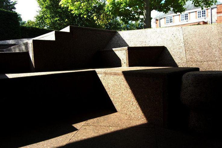 Cork steps at Serpentine Gallery Pavilion 2012 Herzog & De Meuron and Ai Weiwei