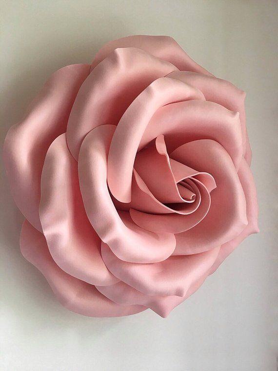 b289a9d68654 Large paper flowers Foam flowers Izolon flowers Paper flowers ...