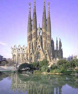 Church of the Sacred Family- Barcelona, Spain. The most amazing church I have ever seen.