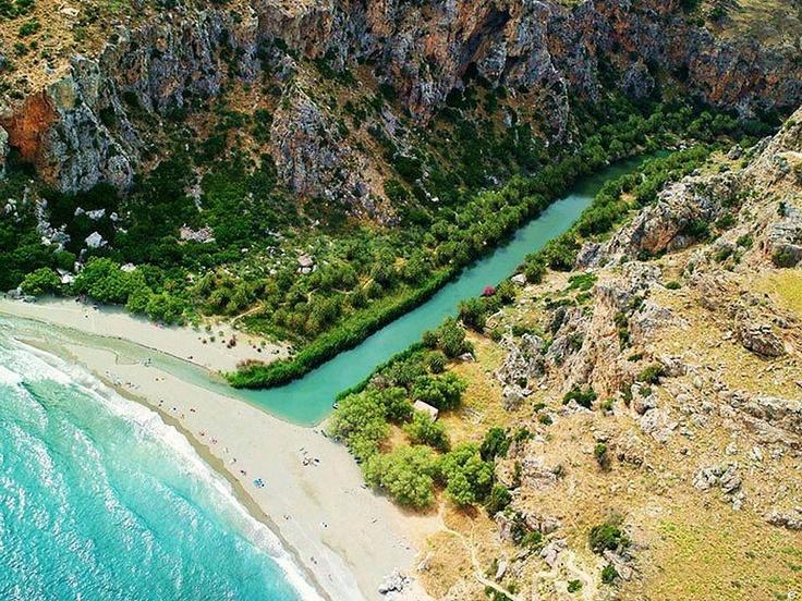 Παραλία Πρέβελη, Ρέθυμνο, Κρήτη