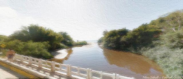 Plein air - virtual, digital ou real: Barra Velha - Santa Catarina /Brasil