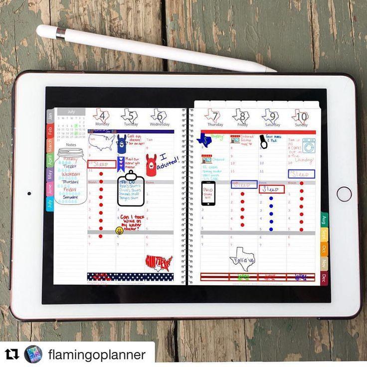 Digital version of an analog bullet journal. Brilliant! @showmeyourplanner