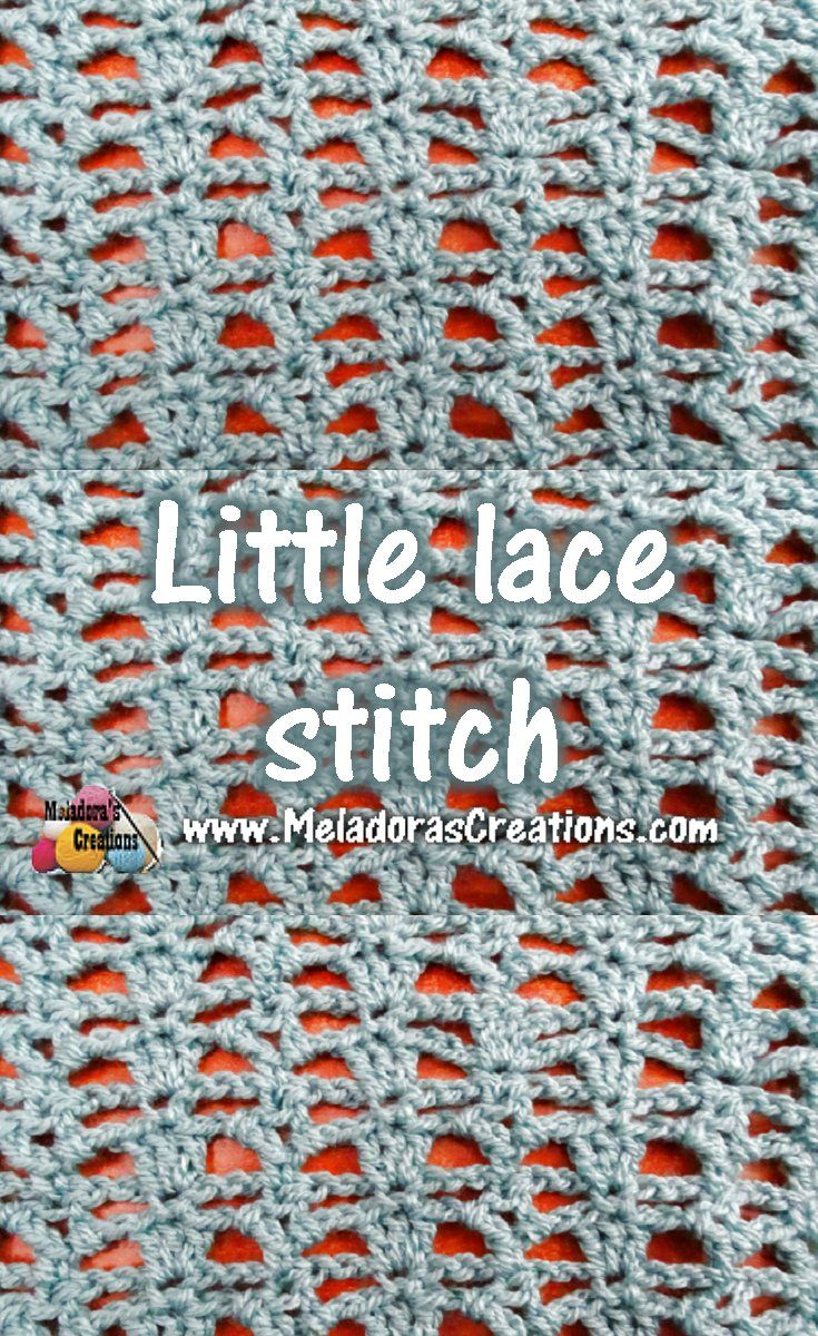 490 best crochet stitches images on pinterest tricot crochet little lace crochet stitch tutorials bankloansurffo Gallery