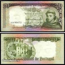 Escudo - portuguese money before the €.