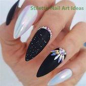 36 schöne Trend-Stiletto-Nägel im Jahr 2019 #im #Year #Nails #Stiletto # … – Nail Design – Nails