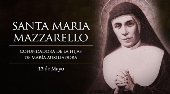 Hoy es fiesta de Santa María Mazzarello, cofundadora de las Hijas de María Auxiliadora