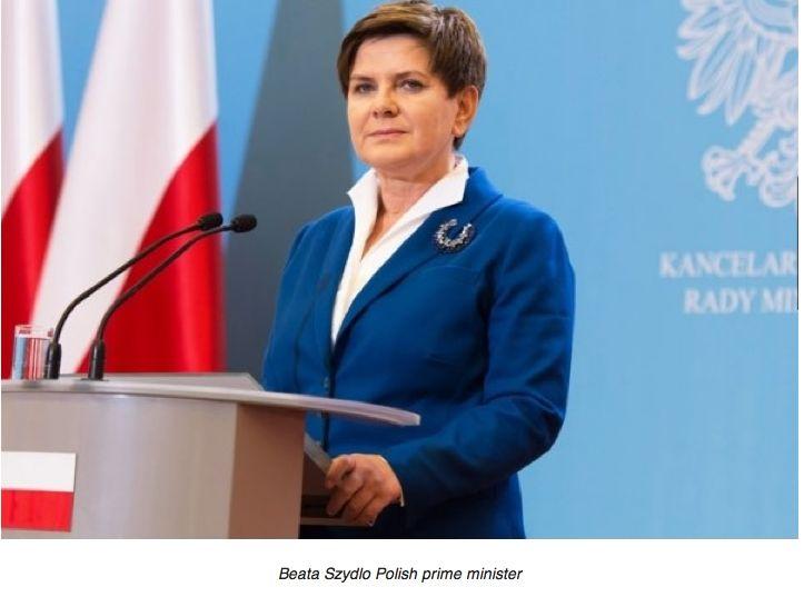 Quand la Première ministre polonaise se moque de la faible popularité de François Hollande