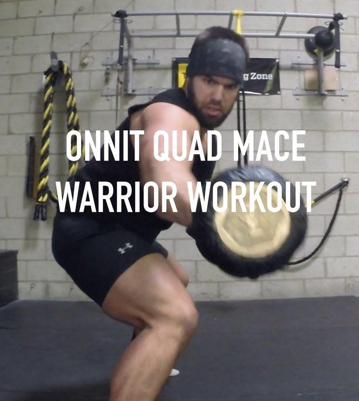 Kettlebell Superhuman: Onnit Steel Mace Warrior Workout