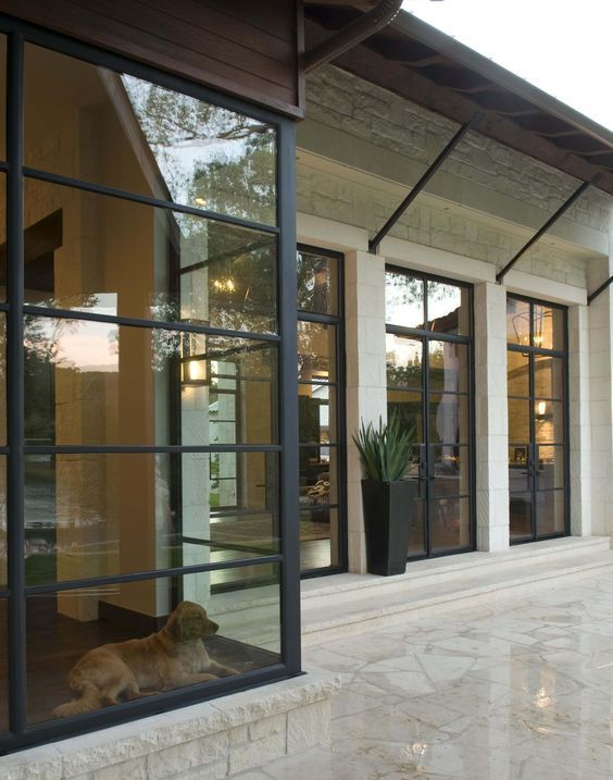 36 ventanas y puertas de acero - tendencia en interiores