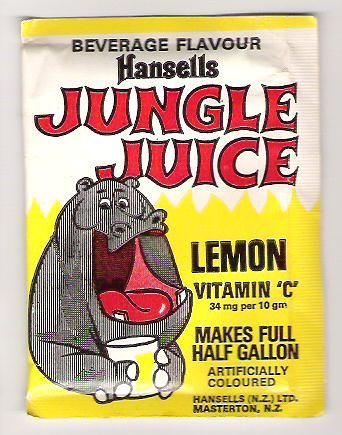 1970s Hansells Jungle Juice Packet 5