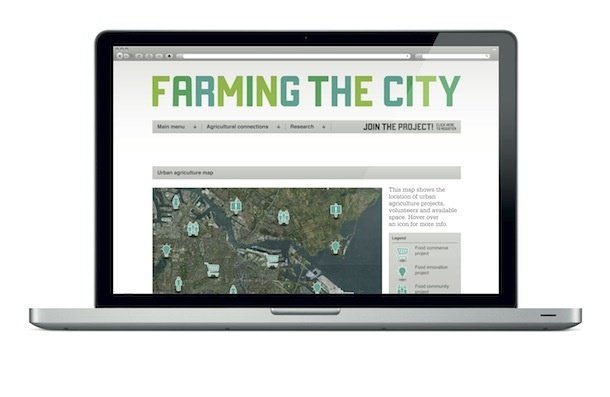 A Web App to Empower Urban Food Communities