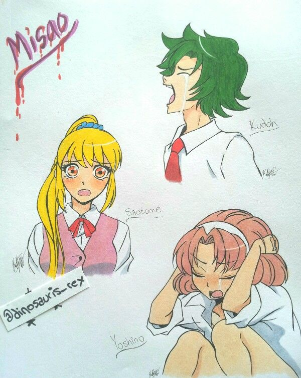 Kudoh! Leave him alone, Misao! He didn't mean it! </3  ...Oh, Saotome and Yoshino are suffering, too. ...Oh well. cx