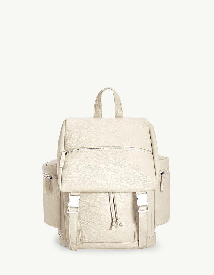 PU clip backpack - Bags and backpacks | Stradivarius Greek