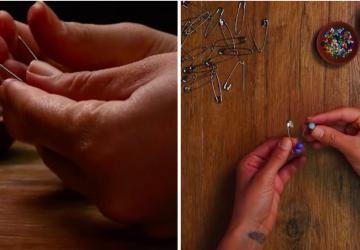 Avec des épingles de sûreté et des perles de toutes les couleurs, réalisez de superbes bijoux!
